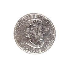 5 Dollar Canadian Elizabeth II 999.9 Fine silver 1 Oz