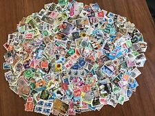 Worldwide off paper Stamps Lot 500 difference collection selected nice random G5