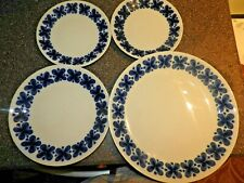 4 Vintage Rorstrand Sweden Mon Amie 1 Dinner/1 Salad/ 2Bread and Butter PLates