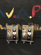 💦 2004 Donruss Studio Game Day Souvenirs Jim Thome + Jimmy Rollins Phillies 💦