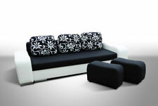 Up to 4 Seats Contemporary Three Seater Sofa Beds