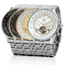 JARAGAR Luxus Herrenuhr Edelstahl Armband Uhr Automatik!