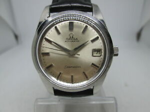 VINTAGE OMEGA SEAMASTER CAL.562 DATE STAINLESS STEEL AUTOMATIC MENS WATCH