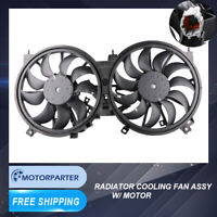 1PC Radiator Cooling Fan For 09-14 Nissan Murano 11-15 Quest sport utility 3.5L