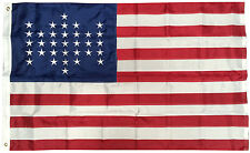 3x5 Ft EMBROIDERED NYLON 33 STARS Old Glory Spangled American USA Sumter Flag