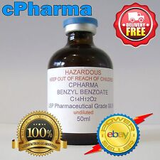 BENZYL BENZOATE USP 99.9% (UNDILUTED) PHARMACEUTICAL GRADE 50ml