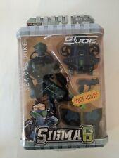 G.I. Joe Sigma 6 Sea Ops Duke Military Action Figure 8 Inch Sealed