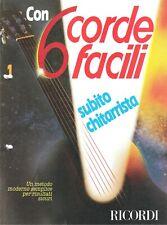 Corso di chitarra  - 6 CORDE FACILI - 50 Fascicoli Completamente DIGITALIZZATI,'