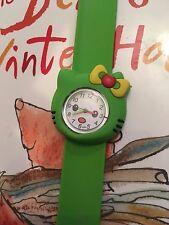 Hello Kitty Quality Slap Wristwatch Kids Girls Wrist Watch Easy Strap PLAIN QTY