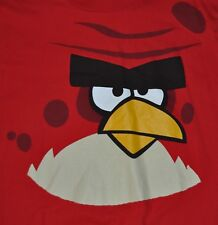 t=shirt xlarge video game gamer angry bird red 23 inches pit to pit