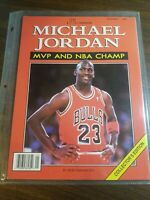 Rare Michael Jordan MVP and NBA Champ Collector's Edition Illustrated 1991 book