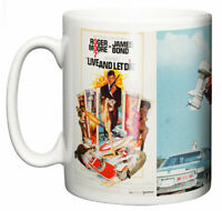 Dirty Fingers Mug, Roger Moore James Bond Live And Let Die, Film Movie Poster