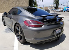 Porsche Cayman Rear Boot Spoiler/Wing - 2014-2016 - Grey Guide Primer - New