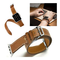 Quality  Watch Band Double Tour Bracelet Strap with Connectors For Apple watch