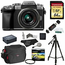 Panasonic 4K DMC-G7KS Digital Mirrorless Camera 14-42 Lens MANUFACTURER WARRANTY