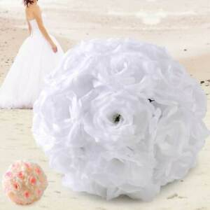 Artificial Rose Kissing Flower Ball Wedding Party Bouquet Centerpiece Favor se