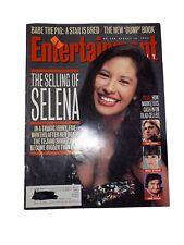 Selena Quintanilla Entertainment Weekly Magazine 1995 Selling of Selena RARE