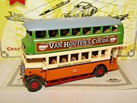 MATCHBOX MODELS OF YESTERYEAR 1930 LEYLAND TITAN BUS GLASGOW CORPORATION YET02