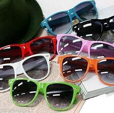 10Pcs New 80s Sunglasses Neon Geek Fashion Sunglasses A69