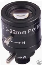 9-22MM CCTV Camera Lens man-Iris Vari-Focal board IR
