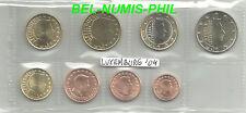 LUXEMBURG 2004 - 8 Munten/Monnaies uit de rol/rouleau - UNC