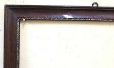 45x63 cm VECCHIA CORNICE PER QUADRI DIPINTI IN LEGNO META' 900 SECOLO GR10