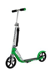 HUDORA Big Wheel 205 Scooter Tretroller Cityroller Roller Kickroller grass