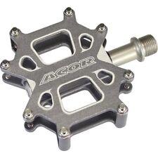 "Acor Flat Platform Mountain Bike MTB / BMX Bicycle Pedals Sealed Bearing 9/16"""