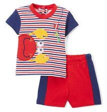 Boys DUCK DUCK GOOSE outfit 0-3 NWT newborn crab beach t shirt shorts July 4th