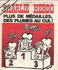 CHARLIE HEBDO N°297 22 juillet 1976 plus de medailles des plumes au cul REISER