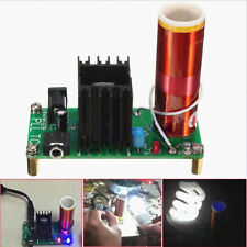 🏅 mini Tesla Coil plasma speaker kit Electronic Field Music 15w DIY placa Project 🏅