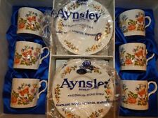 Aynsley Cottage Garden Demitasse Set of 6