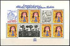 CECOSLOVACCHIA 1982 sg#ms2621 per Bambini Arte Gomma integra, non linguellato M/S #d40321