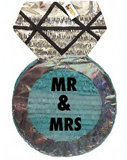 Large Diamond Ring Pinata Mr & Mrs Wedding Party Favors Bridal Shower