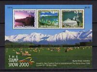11881) New Zealand 2000 - London 2000 S/S MNH