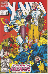 °X-MEN #12 BROKEN MIRRORS HAZARD vs X-MEN ° US Marvel 1992 Fabian Nicieza