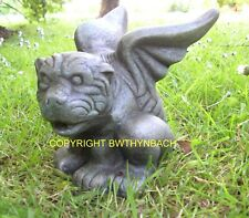 NEW RUBBER LATEX MOULD MOULDS MOLD MAKE A WINGED GARGOYLE DOG GARDEN ORNAMENT