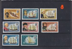 Antigua QEII Mounted Mint Collection