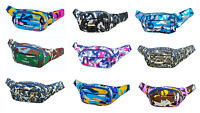FANNY PACK Bold Camo Waist Belt Bag Purse Bum Hip Pouch Pocket Travel Sling