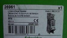 BOBINE MN  48V AC/DC DECLENCHEUR à MINIMUM de TENSION  SCHNEIDER 26961