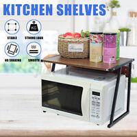 Kitchen Shelf Microwave Oven Rack Steel Stand Storage Cabinet Holder Organi