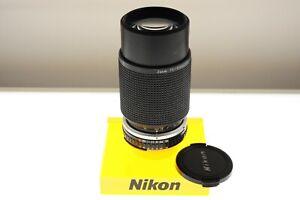 Nikon Series E 75-150mm f/3.5 Ai-s zoom lens. EXC+ cond. Lightweight optics!