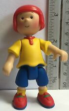 Caillou TV Show Boy PVC Action Figure Figurine Jointed with Helmet Cake Topper