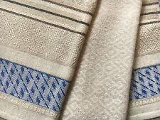 Set Antico Tovaglioli in cotone design retrò vintage Scandinavian Intrecciato tessile