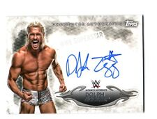 WWE Dolph Ziggler 2015 Topps Undisputed Authentic On Card Autograph FD30