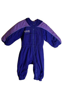 Columbia Tectonite Toddler Baby One-Piece Hooded Zippered Snowsuit Size 18 Month