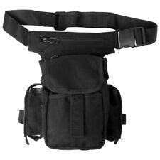 MULTI PURPOSE WAIST HIP PACK SHOULDER BAG BELT POUCH HIKING CAMPING TRAVEL BLACK