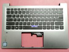 For Lenovo Ideapad 720S-14IKB Backlit palmrest & keyboard US Silver