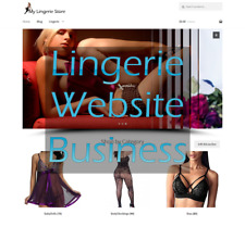 Lingerie eCommerce turnkey website  Amazon Affiliate Lingerie Website Business
