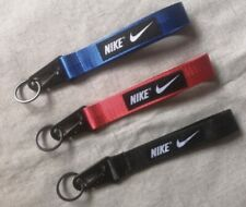 Black Red or Blue Nike Wrist Lanyard  Keychain Free Shipping